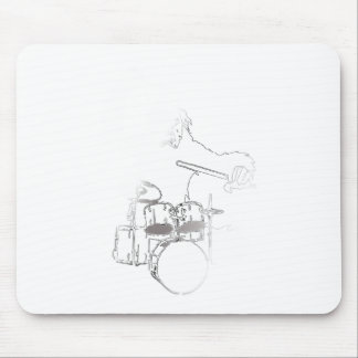 drum_gorilla_white.png mouse pad