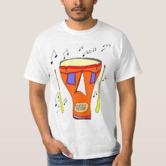 Drum Head Pirate T-Shirt