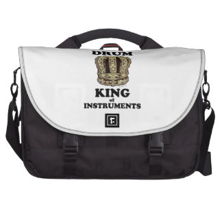 Drum King of Instruments Laptop Computer Bag