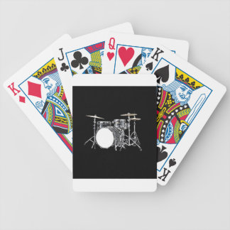 """""""Drum Kit 2"""" design gifts and products Bicycle Playing Cards"""