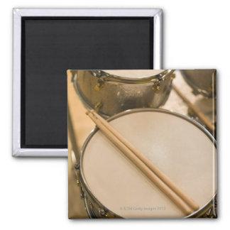 Drum Kit 3 2 Inch Square Magnet