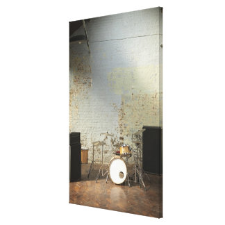 Drum Kit 3 Canvas Print