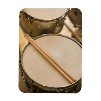Drum Kit 3 Rectangular Photo Magnet