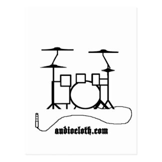 Drum Kit and Cable Post Card