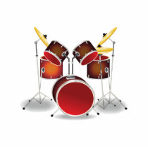 Drum Kit Cutout