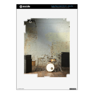 Drum Kit Decal For iPad 3