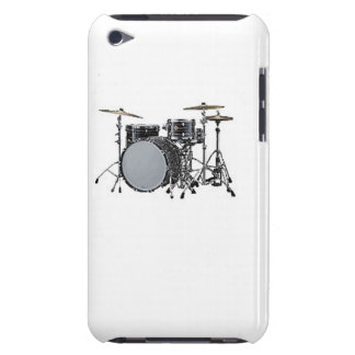 """""""Drum kit"""" design Apple product cases Barely There iPod Case"""