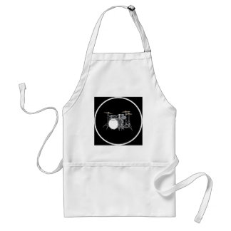 """""""Drum Kit"""" design gifts and products Adult Apron"""
