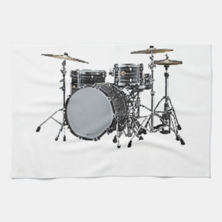 """Drum kit"" design gifts and products Hand Towel"