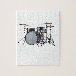 """""""Drum kit"""" design gifts and products Jigsaw Puzzle"""