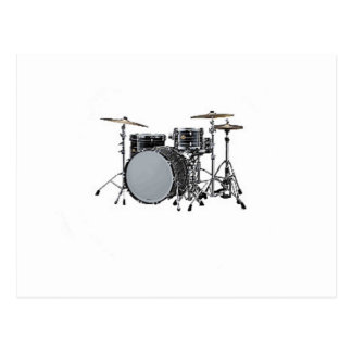 """Drum kit"" design gifts and products Post Card"