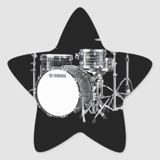 """""""Drum Kit"""" design gifts and products Star Sticker"""