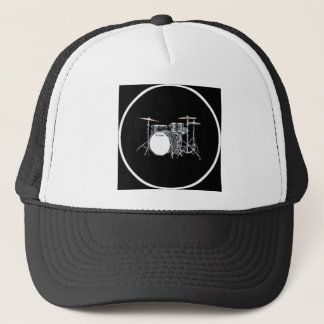 """""""Drum Kit"""" design gifts and products Trucker Hat"""