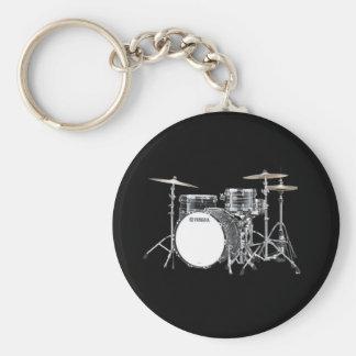 """""""Drum Kit"""" design jewelry set Keychain"""