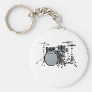 """Drum Kit"" design jewelry set Key Chain"