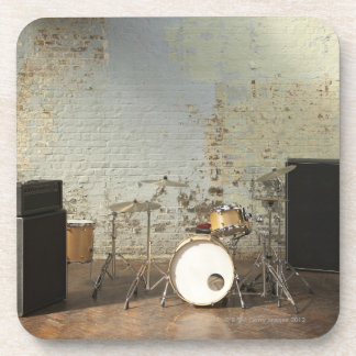 Drum Kit Drink Coaster