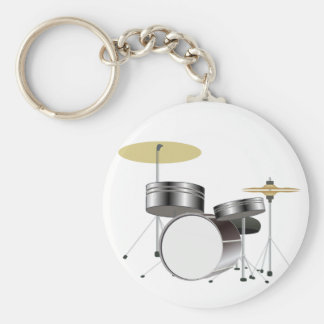 Drum Kit Drummer Key Chain