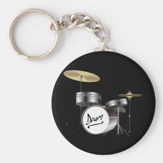Drum Kit Keychains