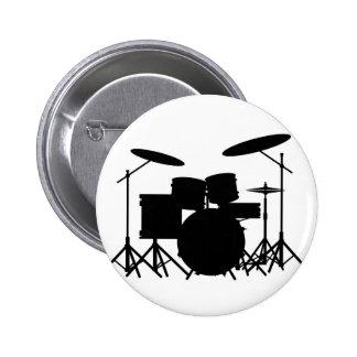 Drum Kit Pinback Button