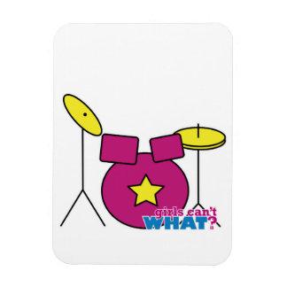Drum Kit -  Pink Magnet