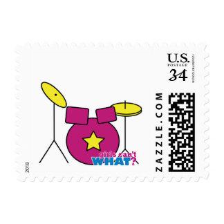 Drum Kit -  Pink Postage