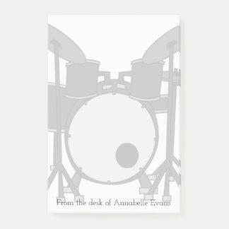 Drum Kit Post-it Notes