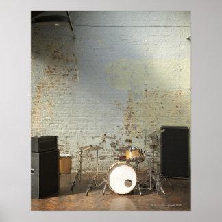 Drum Kit Poster