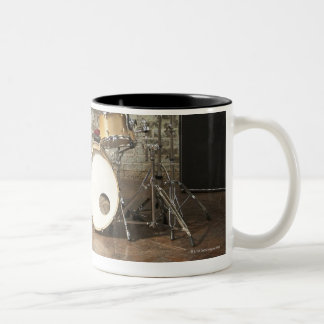 Drum Kit Two-Tone Coffee Mug