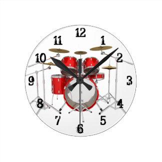 Drum Kit: Wall Clock