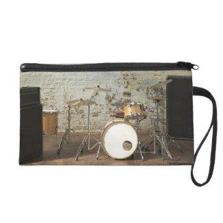 Drum Kit Wristlet Clutches