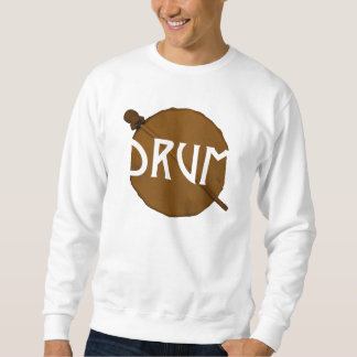 Drum Life Sweater Pull Over Sweatshirts