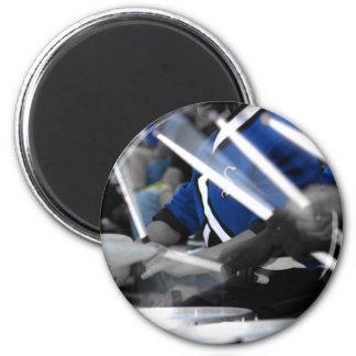 Drum Line Colorized Magnet