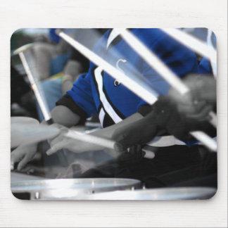 Drum Line Colorized Mouse Pad