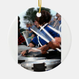 Drum Line Ornament