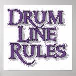 Drum Line Rules Print