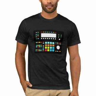 Drum Machine American Apparel Rob Tee