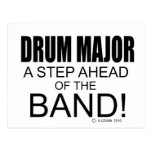 Drum Major A Step Ahead of the Band! Postcard