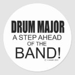 Drum Major A Step Ahead of the Band! Sticker