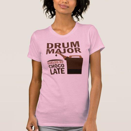 Drum Major (Funny) Chocolate T-Shirt