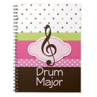 Drum Major Gift Journal Notebook
