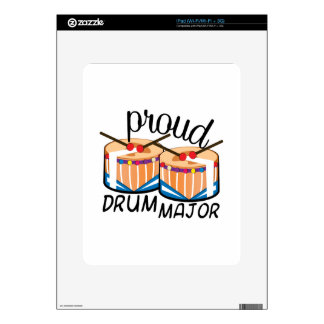 Drum Major iPad Decal