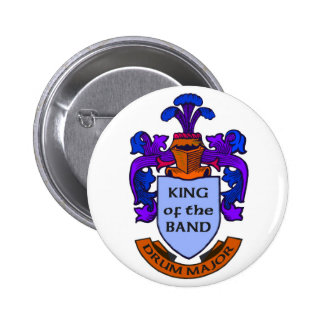 Drum Major: King of the Band Pin