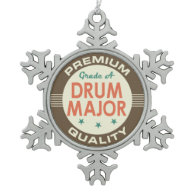 Drum Major Music Band Gift Ornaments