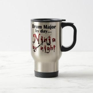 Drum Major Ninja 15 Oz Stainless Steel Travel Mug