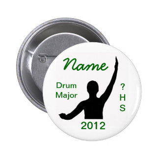 Drum Major Pinback Button