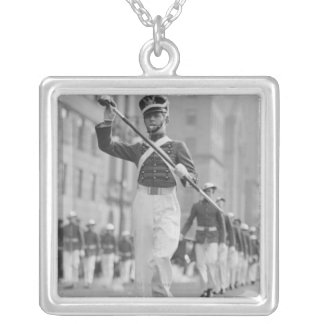 Drum Major Silver Plated Necklace