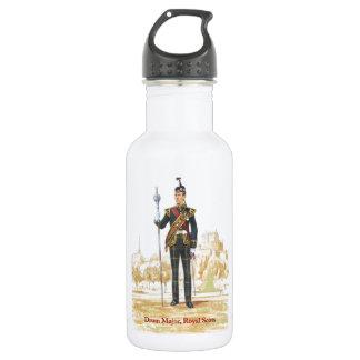 Drum Majpr, Royal Scots Stainless Steel Water Bottle