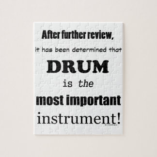 Drum  Most Important Instrument Jigsaw Puzzle