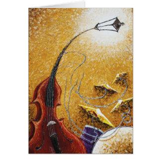 Drum 'n' Bass Greeting Card
