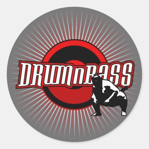 Drum n Bass Sticker Pack